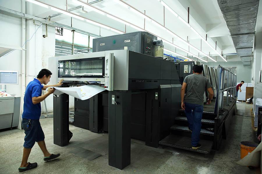 Professional Heidelberg printing machines